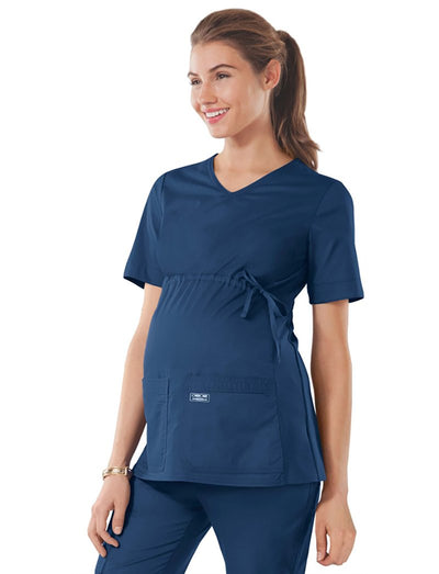 Cherokee Workwear Core Stretch V-Neck Maternity Scrub Top