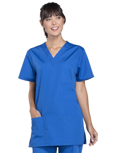 Cherokee Workwear Originals Unisex V-Neck Scrub Top