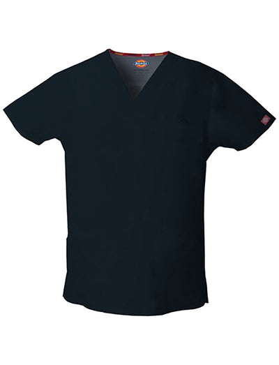 Dickies EDS Mens 3-Pocket V-Neck Scrub Top