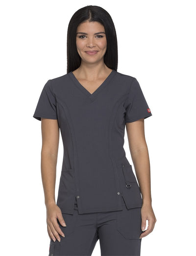Dickies Xtreme Stretch V-Neck Scrub Top