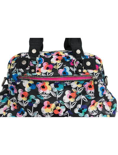 Koi Covered in Flowers Utility Bag