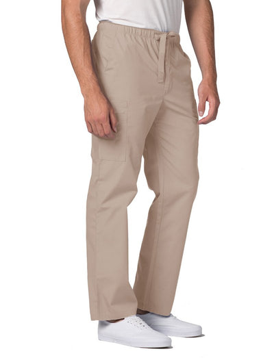 Adar Universal Mens 6-Pocket Tapered Leg Scrub Pant