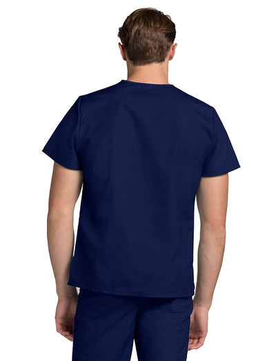 Adar Universal Unisex 2-Pocket V-Neck Scrub Top