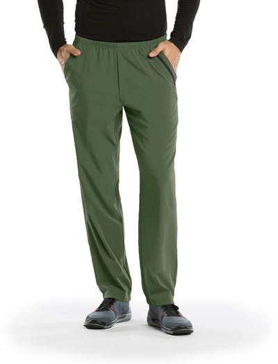 Barco One Mens 7 Pocket Athletic Scrub Pant