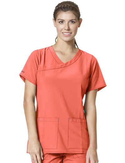 Carhartt Cross-Flex Y-Neck Scrub Top