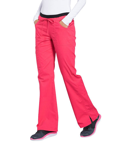 Cherokee Workwear Core Stretch Low Rise Flare Leg Scrub Pant