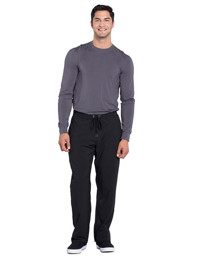 Cherokee Infinity Mens Antimicrobial Tapered Leg Scrub Pant