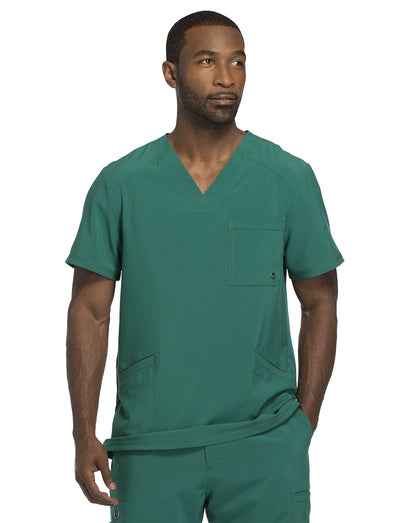 Cherokee Infinity Mens Antimicrobial V-Neck Scrub Top