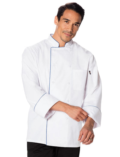 Dickies Chef Unisex Cool Breeze Chef Coat with Piping