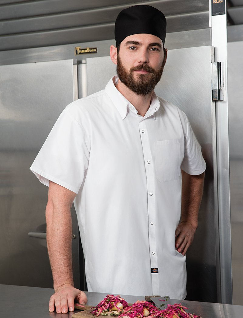 Dickies Chef Unisex Poplin Cook Shirt