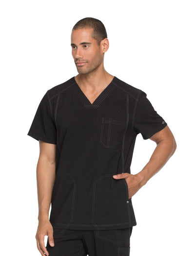 Dickies Advance Mens V-Neck Scrub Top