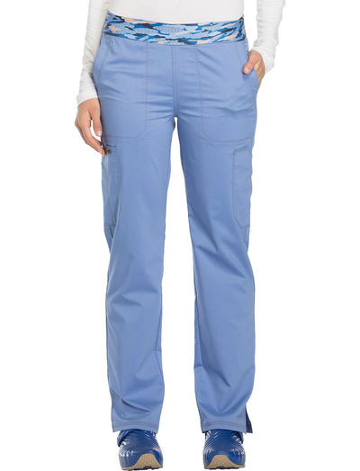 Dickies Essence Mid-Rise Pull-On Scrub Pant