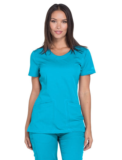 Dickies Dynamix Round Neck Scrub Top
