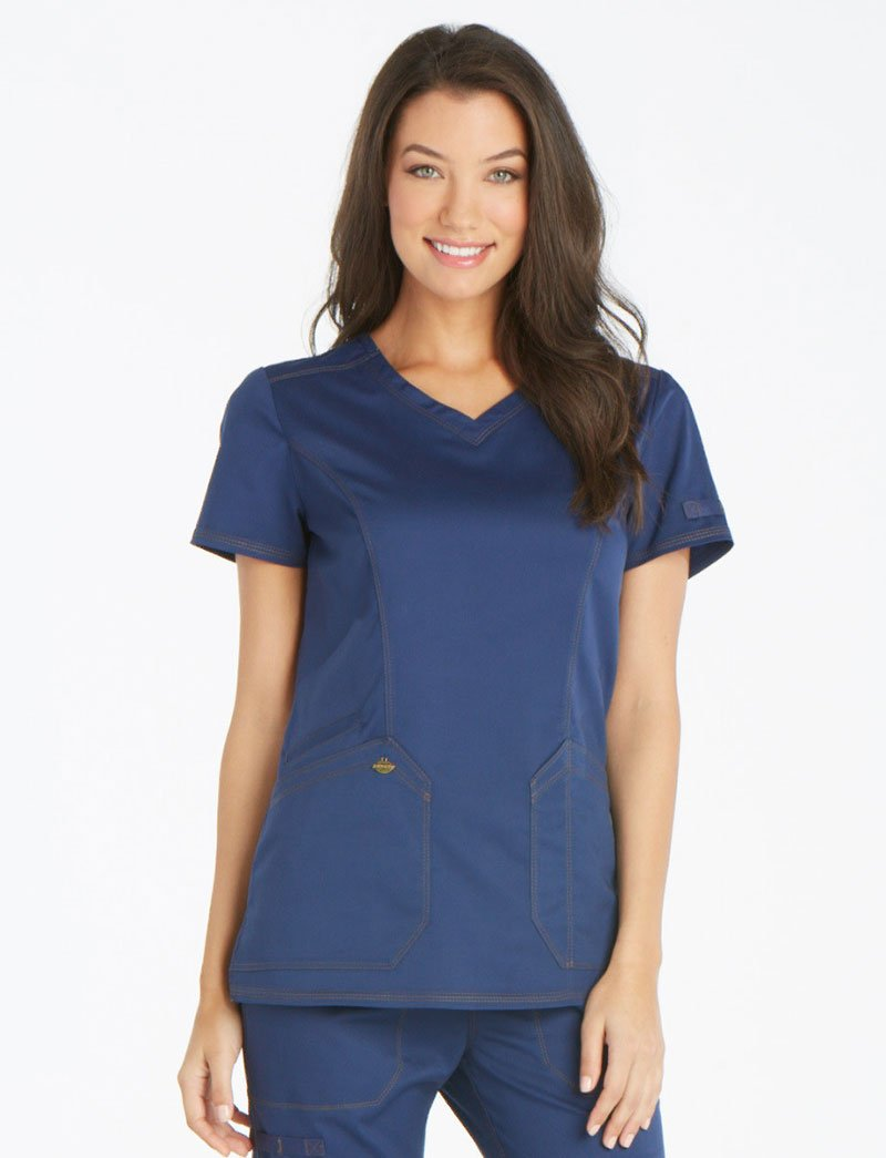 Dickies Essence V-Neck Scrub Top