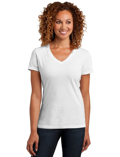 District Made Womens Perfect Blend V-Neck Tee