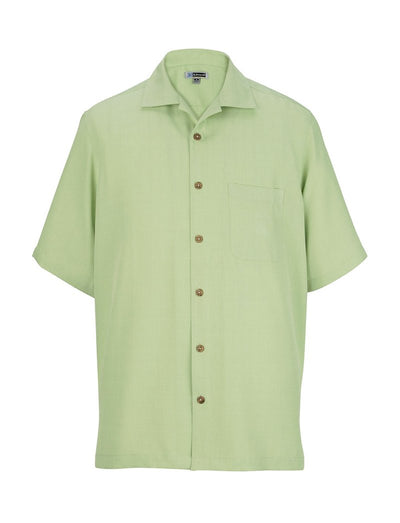 Edwards Unisex Jaquard Batiste Camp Shirt