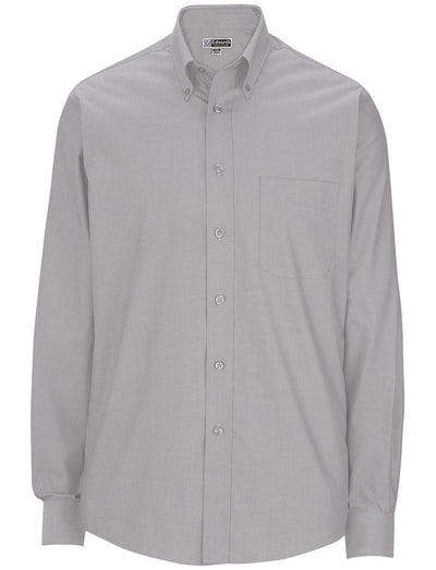 Edwards Mens Pinpoint Oxford Long Sleeve Shirt