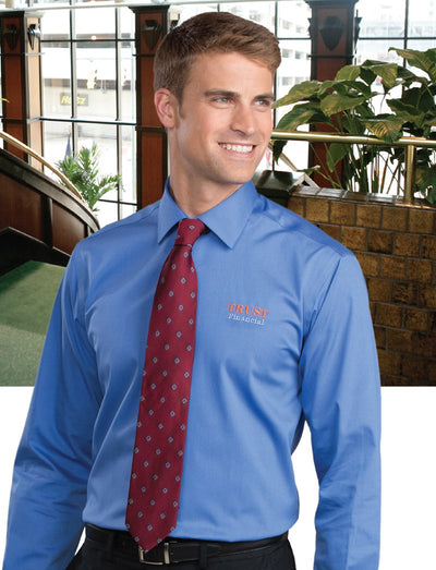 Edwards Mens No Iron Dress Shirt