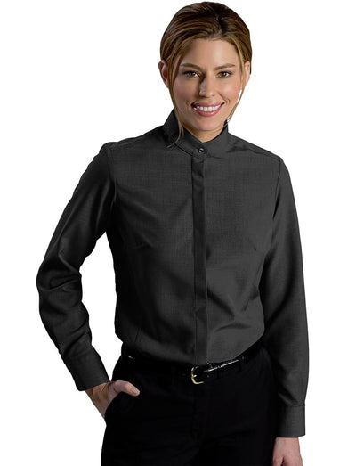 Edwards Ladies Batiste Banded Collar Dress Shirt
