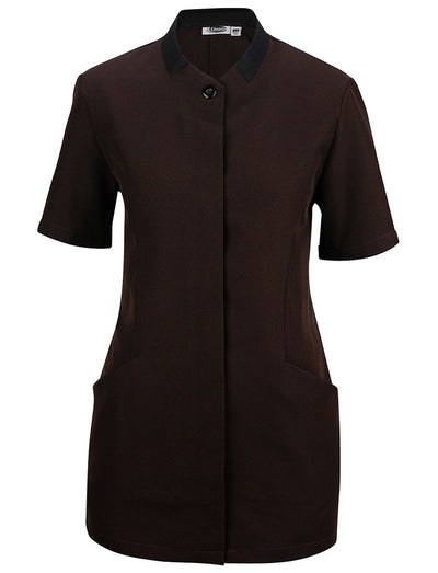Edwards Ladies Black Collar Housekeeping Tunic
