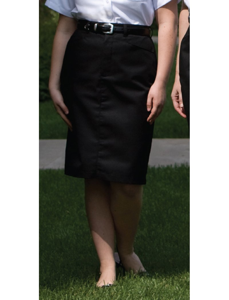 Womens Scrub Skirts Lydiasuniforms Pensil Jeans Polos Black Jsk9100 Size 27 38 Edwards Ladies 25 Inch Chino Skirt