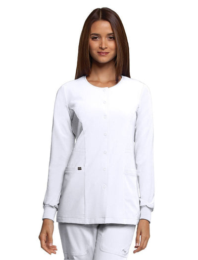 Grey's Anatomy Signature Snap Front Jacket