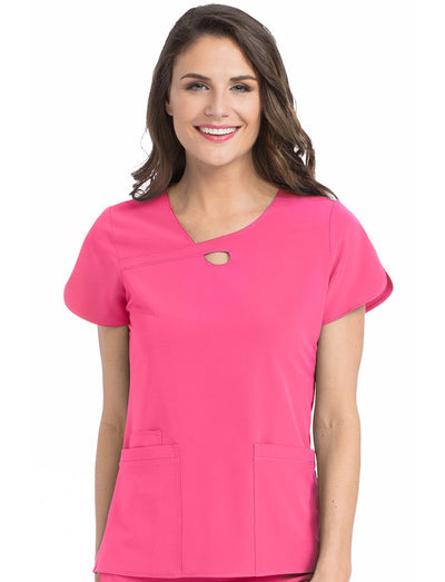 Med Couture 4-Ever Flex Impact Scrub Top
