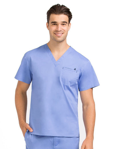 Med Couture MC2 Mens Chest Pocket Scrub Top
