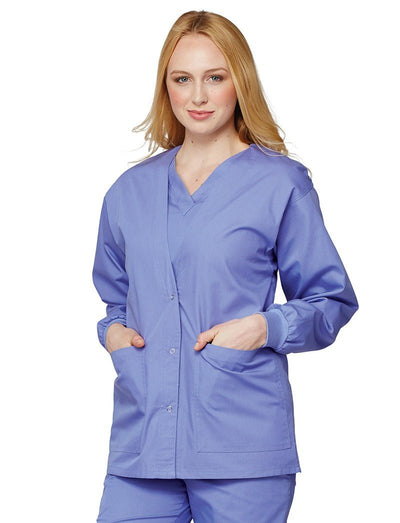 Tafford Essentials Fashion Warm-Up Scrub Jacket