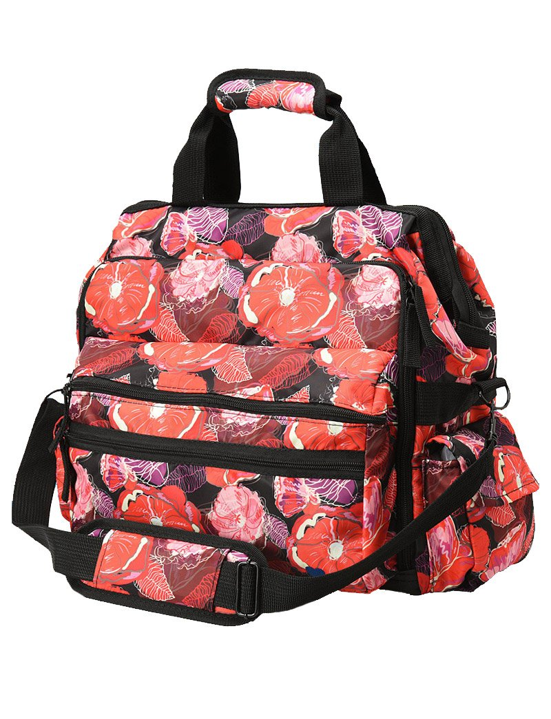 Nurse Mates Poppies Ultimate Nursing Bag