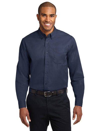 Port Authority Mens Long Sleeve Easy Care Shirt