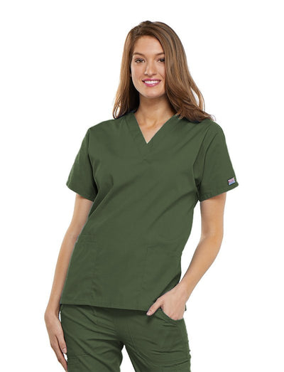 Cherokee Workwear Originals V-Neck Scrub Top