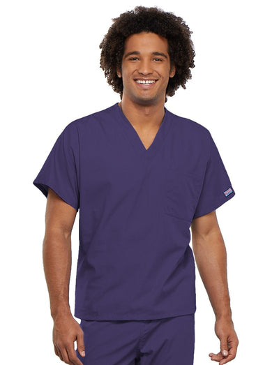 Cherokee Workwear Originals Unisex V-Neck Tunic Scrub Top