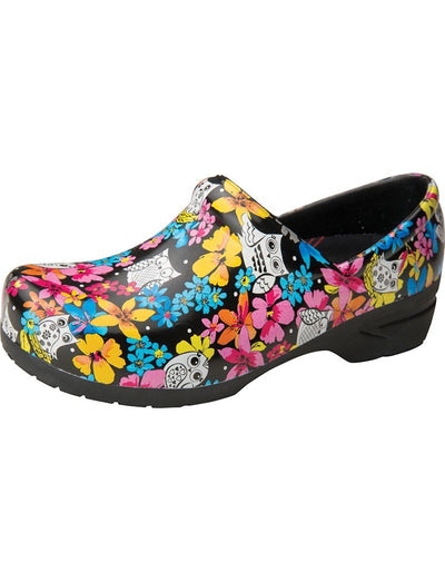 Anywear Feathered Friends Slip Resistant Angel Clog
