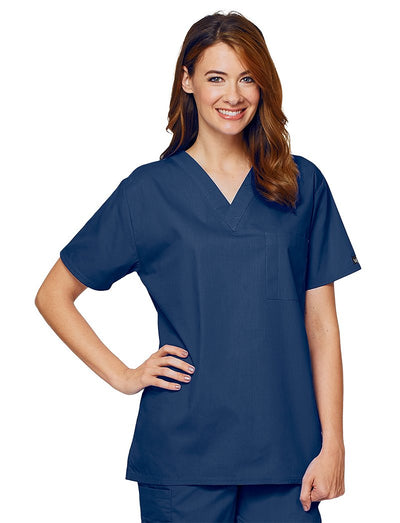 Lydia's Select Unisex Chest Pocket Scrub Top