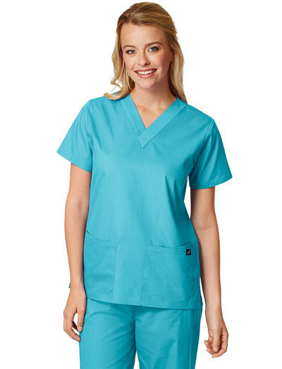 Lydia's Select 4 Pocket V-Neck Scrub Top