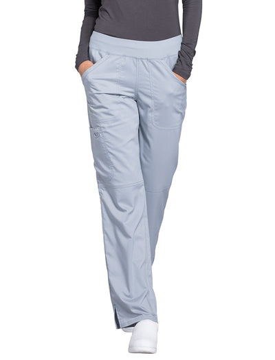 Cherokee Workwear Revolution Straight Leg Pull-On Scrub Pant