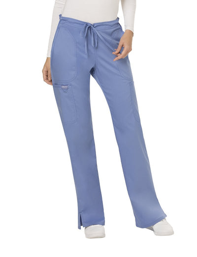 Cherokee Workwear Revolution Moderate Flare Scrub Pant