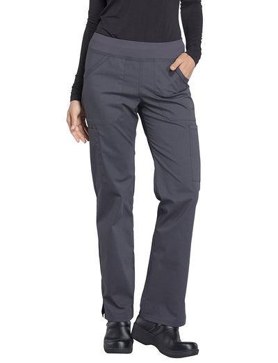 Cherokee Workwear Professionals Straight Leg Pull-On Scrub Pant