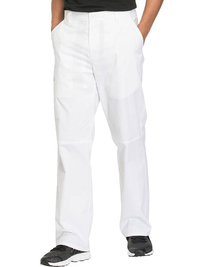 Cherokee Workwear Core Stretch Mens Zip Fly Scrub Pant
