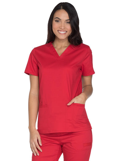Cherokee Workwear V-Neck Scrub Top