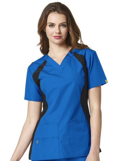 WonderWink Origins Lima Scrub Top