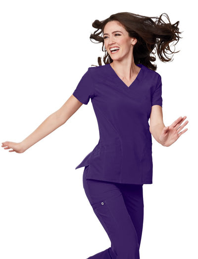Barco One 5 Pocket V-Neck Scrub Top