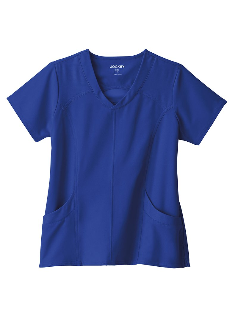 Jockey Performance Rx Peak Performance V Neck Scrub Top