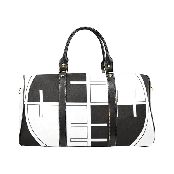 SPORTS BAG BLACK WHITE