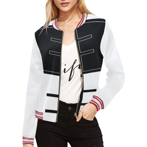 jacket fitness yoga running fitness novashion black white
