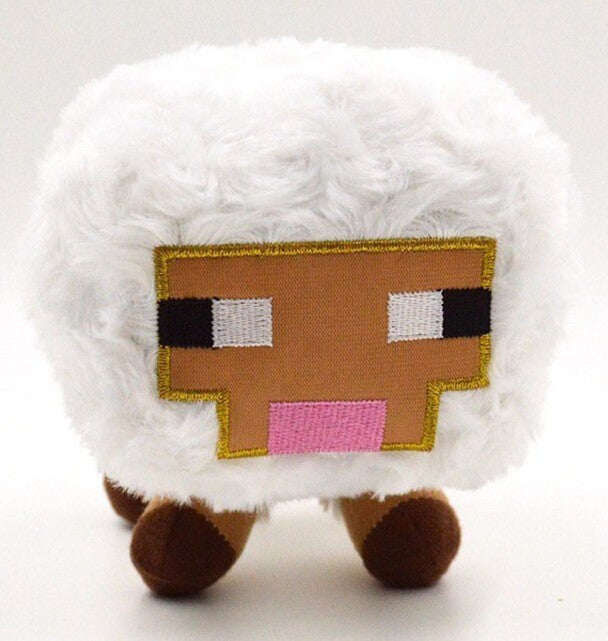 Minecraft White Baby Sheep Plush Toys 16cm