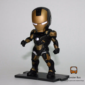 Iron Man 6 Piece set 10 cm