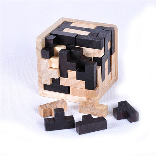 Russia Educational Wood Luban Cube