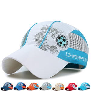 Football Cap Summer Children for Kids with Mesh